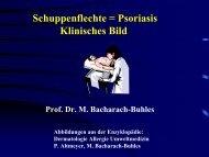 Psoriasis (Vortrag) - Derma-Hattingen