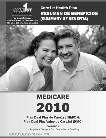 261972 CareCA SpanSOB.indd - Care1st Health Plan