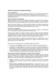 PERGUNTAS E RESPOSTAS SOBRE RADIOTERAPIA