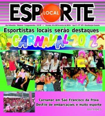 Esporte Local edição 107 - Jornal Esporte Local
