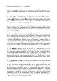 Patienten-Information zur PUVA – Behandlung ... - Derma-Hattingen