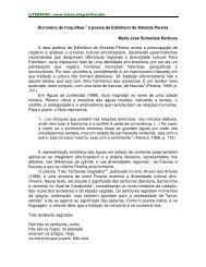 a poesia de Edimilson de Almeida Pereira - FALE - UFMG