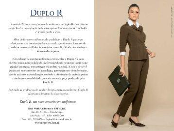 Ideal Work Uniformes e EPI's Ltda. Rua Pio XI, 824 - Alto da Lapa ...