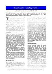 Neurodermatitis - specific prevention - Dermaviduals