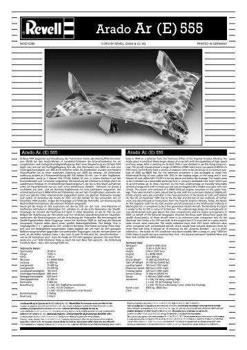 Arado Ar (E) 555