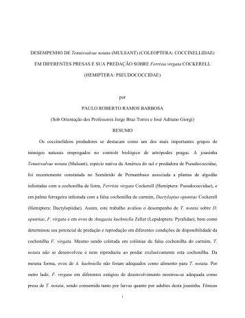 Paulo Roberto Ramos Barbosa - Ppgea.ufrpe.br - UFRPE