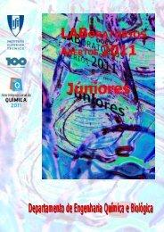 Livro dos Laboratórios Abertos Júnior 2011 - Departamento de ...