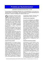 Produkte per Baukastensystem - Dermaviduals