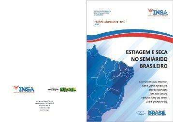 Novo mapeamento da estiagem no Semiárido brasileiro - Insa