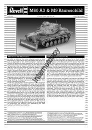 M60 A3 & M9 Räumschild