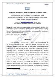 AVALIAÇÃO DE GENÓTIPOS DE ALGODÃO NO ... - Fundação Bahia