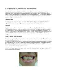 Câncer bucal: a prevenção é fundamental - Portal do Envelhecimento