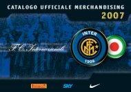 Catalogo Ufficiale Merchandising - INTER Club Vevey - Svizzera