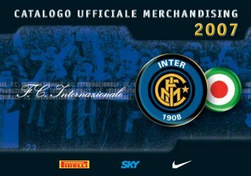 Catalogo Ufficiale Merchandising - INTER Club Vevey - Svizzera