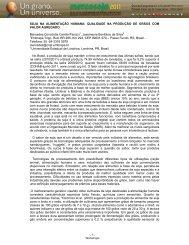 SOJA NA ALIMENTAÇÃO HUMANA: QUALIDADE ... - Mercosoja 2011