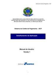 Manual do Sistema do Cartão de Pagamento - ufrgs