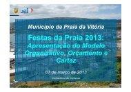 Festas da Praia 2013   Modelo Organizativo, Orçamento e Cartaz 1
