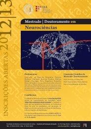 CARTAZ NEUR2 - Faculdade de Medicina da Universidade de Lisboa
