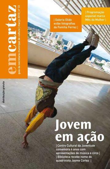 em cartaz - Prefeitura de São Paulo