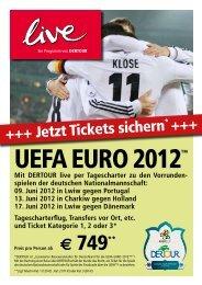 Jetzt Tickets sichern * - Dertour