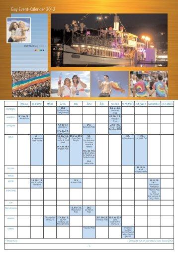 Gay Event-Kalender 2 - Dertour