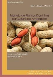 Manejo de Plantas Daninhas na Cultura do Amendoim - IAC