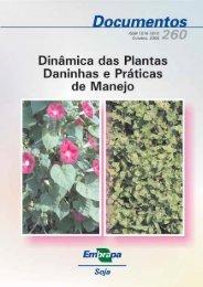 Dinâmica das plantas daninhas e práticas - Embrapa Soja