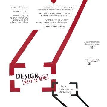 Design Center Stuttgart Haus der Wirtschaft Willi-Bleicher-Straße 19 D