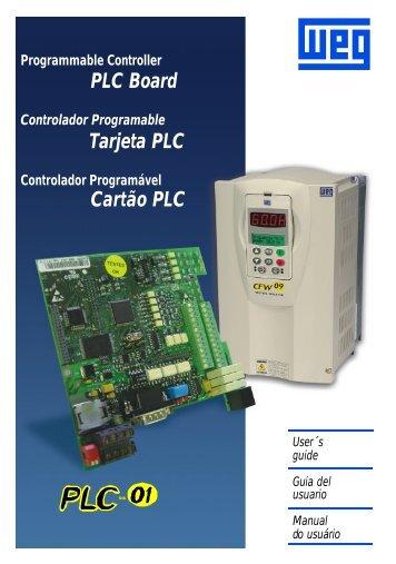 Cartão PLC1 - Weg