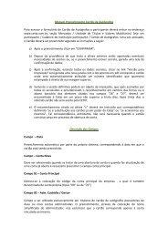 Manual Preenchimento Cartão de Autógrafos Para acessar o ... - Cetip
