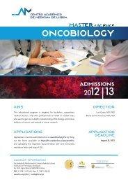 CARTAZ ONCOBIOLOGIA - Faculdade de Medicina da ...