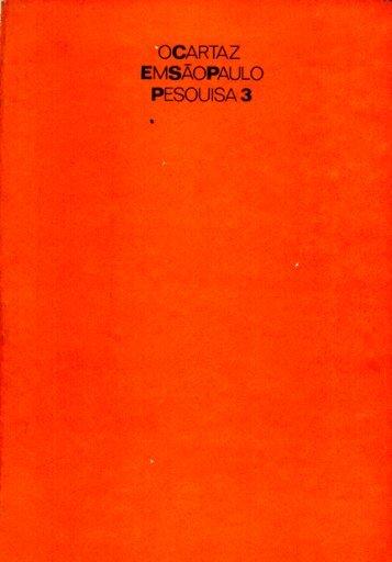 o cartaz em são paulo pesquisa 3 - Centro Cultural São Paulo