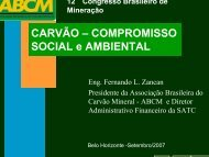 A responsabilidade social e corporativa do carvão mineral - Ibram