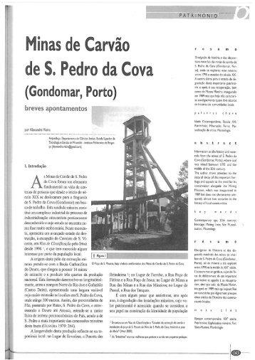 Minas Carvão S. Pedro da Cova AVieira.pdf - Biblioteca Digital do IPB