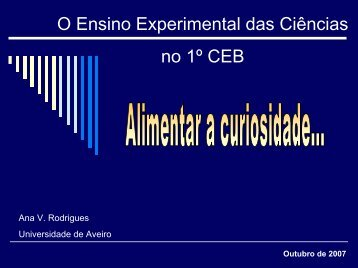 Ensino Experimental das ciências - Ciência Viva