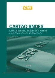 Cartilha Cartão BNDES - Ministério do Desenvolvimento, Indústria e ...