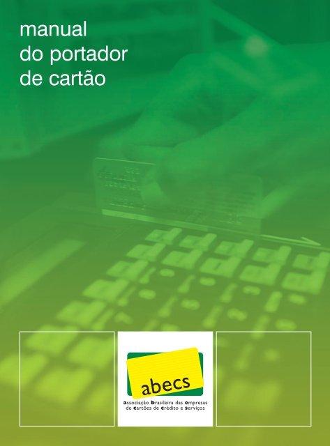 manual do portador de cartão - Caixa Econômica Federal