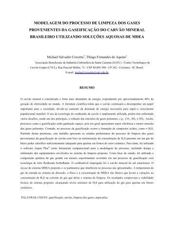 III CONGRESSO BRASILEIRO DE CARVAO MINERAL - ufrgs