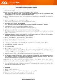 Checklist básico para viagens urbanas - Adventure Zone