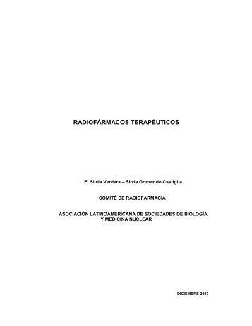 RADIOFÁRMACOS TERAPÉUTICOS - ALASBIMN