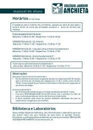 Manual do Aluno CJA (Versão em formato PDF) - Colégio Jardim ...