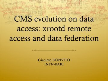xrootd remote access and data federation - Desy