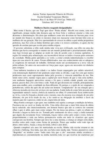 Tairine Aparecida Tiburcio de Oliveira - CNPq