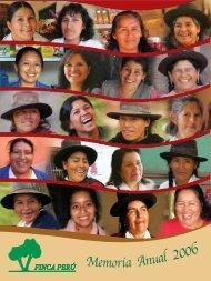 Memoria Institucional 2006 - Finca Perú