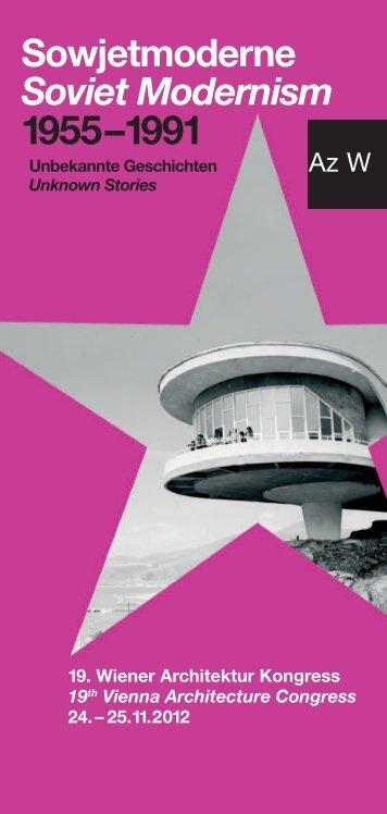 Sowjetmoderne Soviet Modernism 1955 –1991 - DETAIL.de