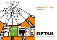 Mediadaten 2012 - DETAIL.de
