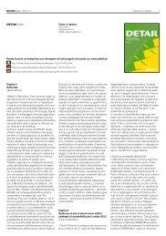 Pagina 3 Editoriale Jakob Schoof - DETAIL-online.com