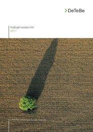 Halbjahresbericht 2011 (pdf 1,91 MB) - DeTeBe