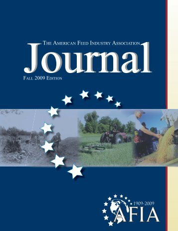 FALL 2009 EDITION - American Feed Industry Association