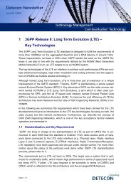 LTE - Key Technologies - Detecon